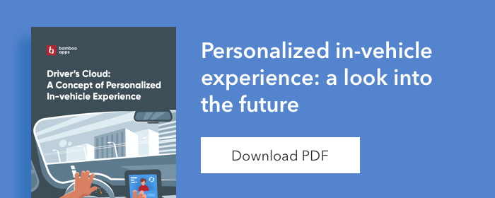 Banner - in-vehicle personalization ebook