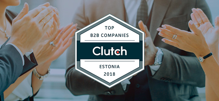 Blog post main pic - Clutch Ranks Bamboo Apps among Top B2B Companies in Estonia