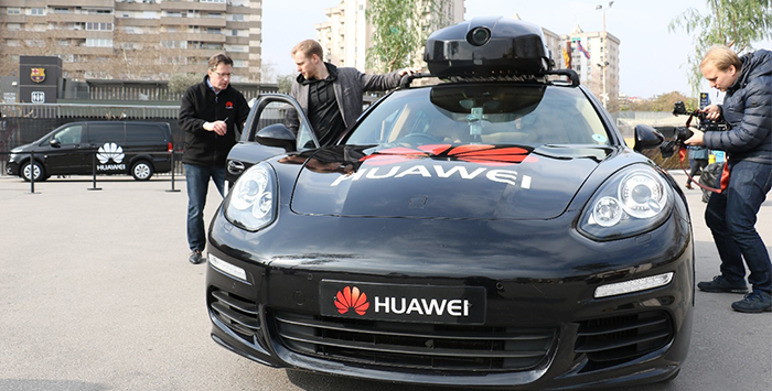 Huawei and Porsche